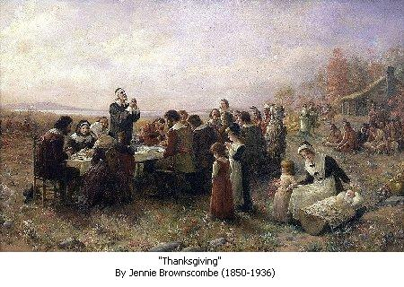 First Thanksgiving - 1621